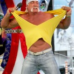 Hulk Hogan just before he turns green