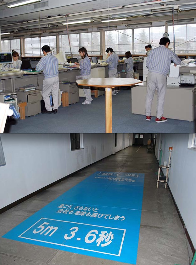 Really bad boss refuses chairs/Walk really fast (Source: dannychoo)
