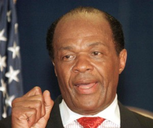 Former DC Maryo Marion Barry