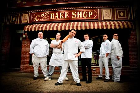 Cake Boss' Remy Gonzalez (second from right) arrested