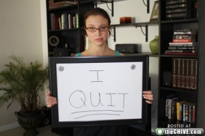 girl quits job 3