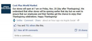 world market respects employees